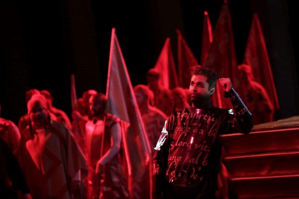 Oper Köln  Benvenuto Cellini La Fura dels Baus KHP  09.11.2015