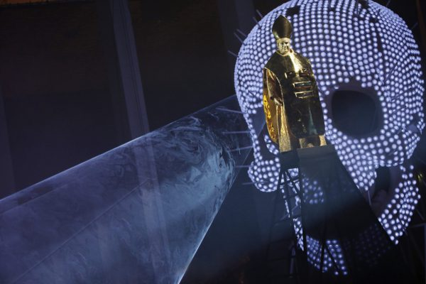 Oper Köln  Benvenuto Cellini La Fura dels Baus Orchesterhauptprobe  10.11.2015