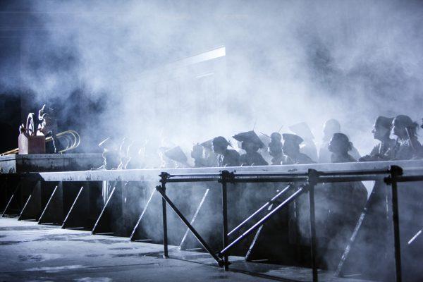 Oper KölnTURANDOTMusikalische Leitung: Claude SchnitzlerRegie: Lydia SteierBühne + Video: FettfilmKostüme: Ursula KudrnaLicht: Andreas GrüterDarsteller: C.Foster, A.Fedin, M.Kares, M.Muehle, Guanqun Yu, W.S.Schwaiger, J,Heuzenroeder, M.Koch, M.MrosekDarsteller: Claudia Rohrbach, Miljenko Turk, Michael Mrosek, Lucas Singer, Martin Koch, Dalia Schaechter, Emily Hindrichs